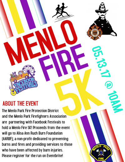Post image for Menlo Fire and Facebook partner to host inaugural 5K run on May 13