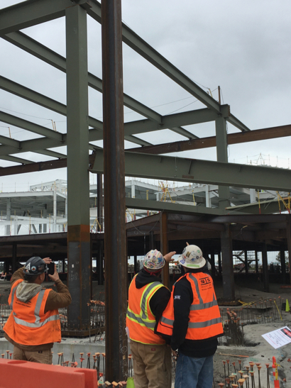 Two iron workers injured at construction site of Facebook's Building 21