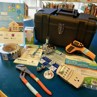 "Post image for Local libraries offer free ""Check It Out!"" energy and water saving toolkits"