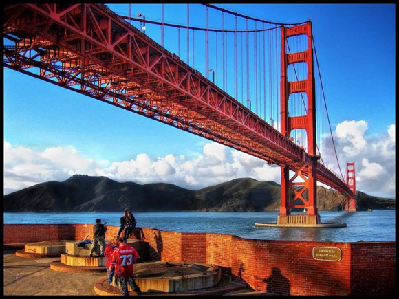 Spotted: Golden Gate Bridge on its 80th birthday