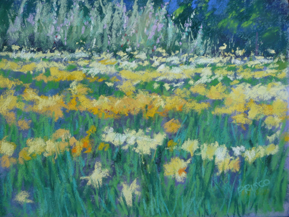 Artist Jan Prisco showcases the beauty of Filoli at Portola Art Gallery exhibit