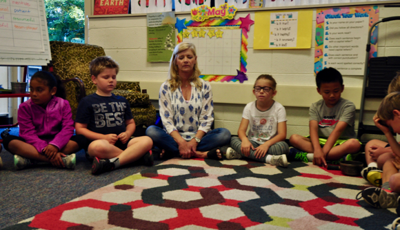 Post image for Mindfulness training comes to Oak Knoll classroom thanks to Julie Brody