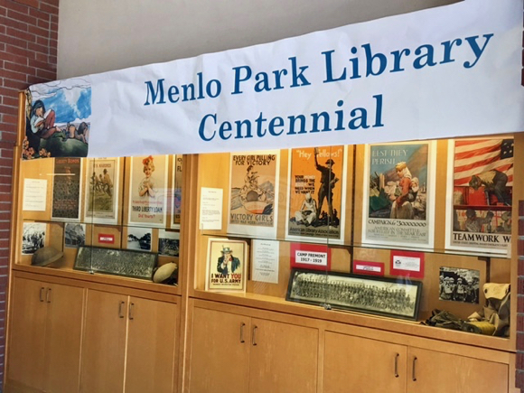 Post image for Spotted: Camp Fremont exhibit at Menlo Park Library