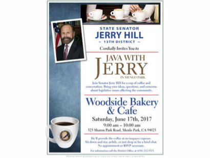 Post image for State Senator Jerry Hill hosts coffee and conversation on June 17