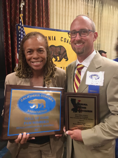 Post image for Spotted: M-A's Wimberly and Snow at Cal Coaches banquet