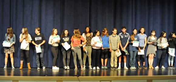 Hillview Middle School fetes class of 2017 with performances, parties and pomp