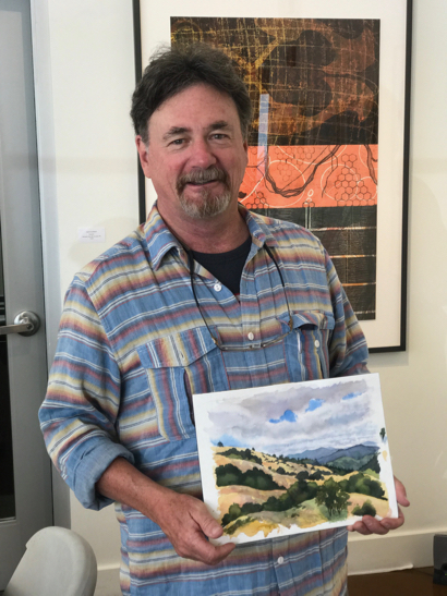 Steve Curl is featured artist at Portola Art Gallery in July