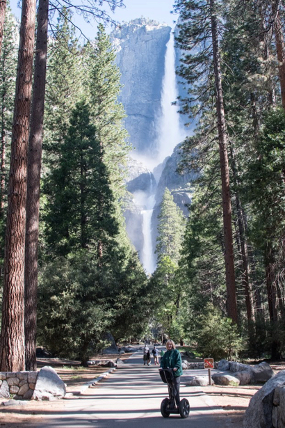 This spring Yosemite Valley is a watery wonderland reports Menlo Park residents Timi and Robb Most