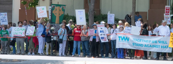 Post image for Members from Trinity Church in Menlo Park attend Unity Rally