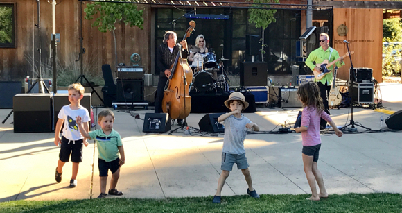 Post image for Spotted: Young rockers at Portola Valley summer concert