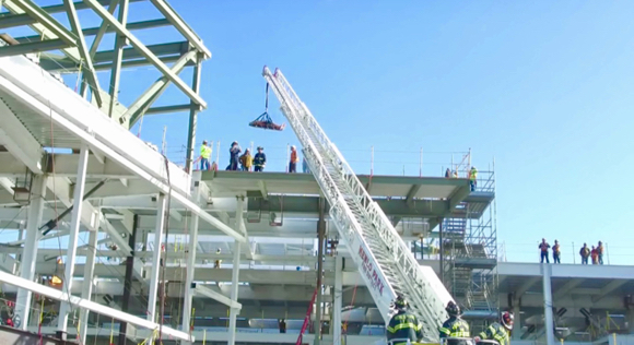 Post image for Another worker injured at construction site of Facebook's new Building 21