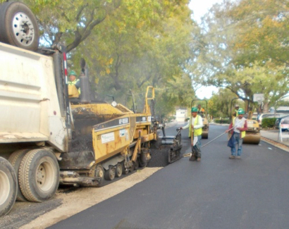 About a third of Menlo Park's streets are being repaved this summer