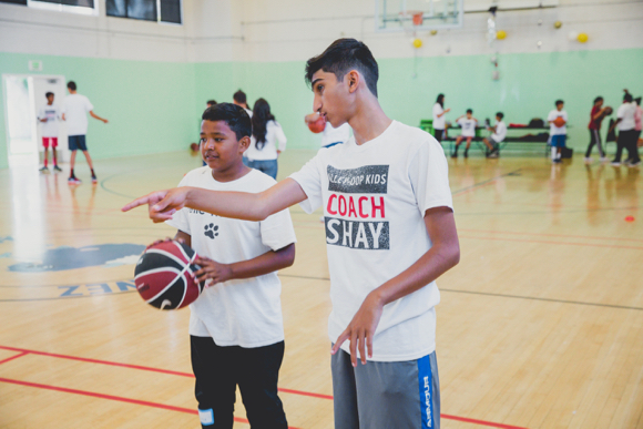 Post image for Shay Patel's Alley-Oop Kids organization holds summer camp in Ravenswood School District