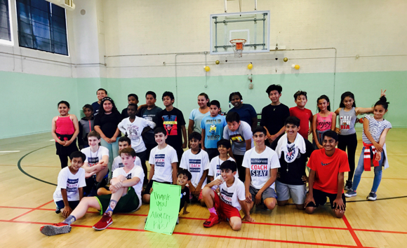 Shay Patel's Alley-Oop Kids organization holds summer camp in Ravenswood School District