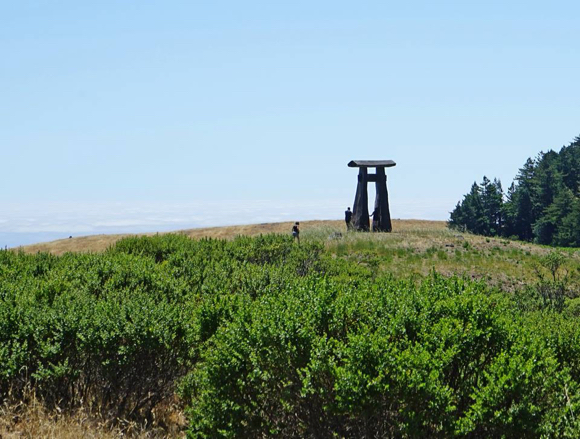 Post image for Djerassi Resident Artists Program yields a feast for the eyes with left behind sculpture