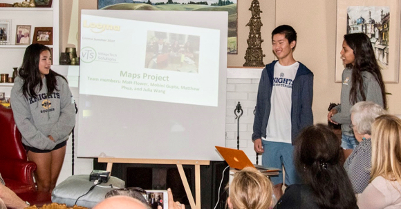 Menlo School students team with VillageTech Solutions to bring affordable technology to Nepal
