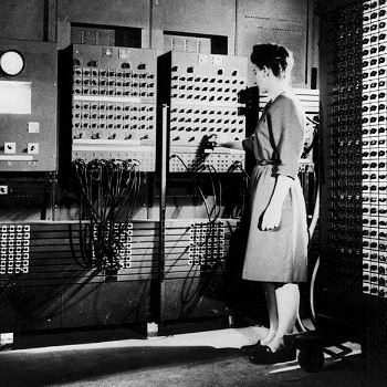 Learn about the hidden figures of computing — women — on August 2