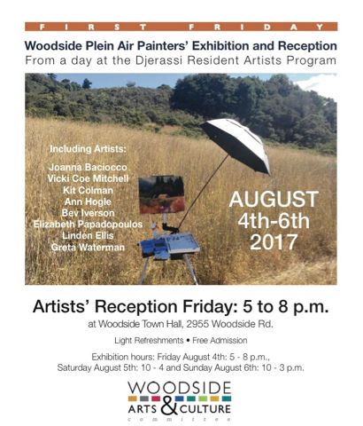 Post image for Woodside's First Friday event extends through the weekend of Aug. 4-6