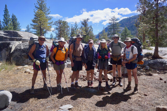 Backpacking the Sierras continues as a favorite pursuit, this year marked by water – and mosquitos