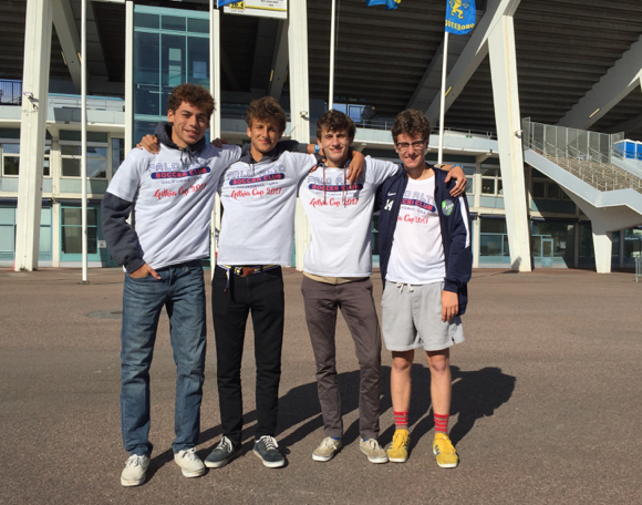 Post image for Four M-A juniors take part in the annual Gothia Cup in Sweden this summer