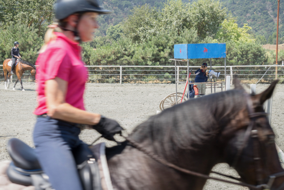 Accomplished equestrian Nancy Hey looks back on her long career and her association with the Menlo Charity Horse Show