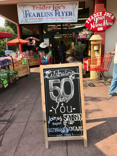 Post image for Spotted: Trader Joe's celebrating its 50th anniversary