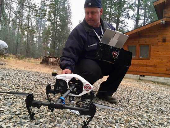 Post image for Menlo Park firefighters are flying history-making drones at South Fork fire