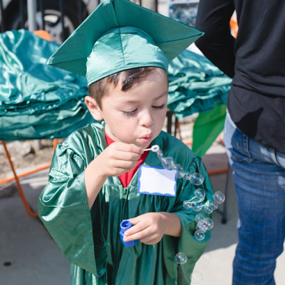 10 Books A Home graduates 55 young learners who received Kindergarten Readiness Degrees