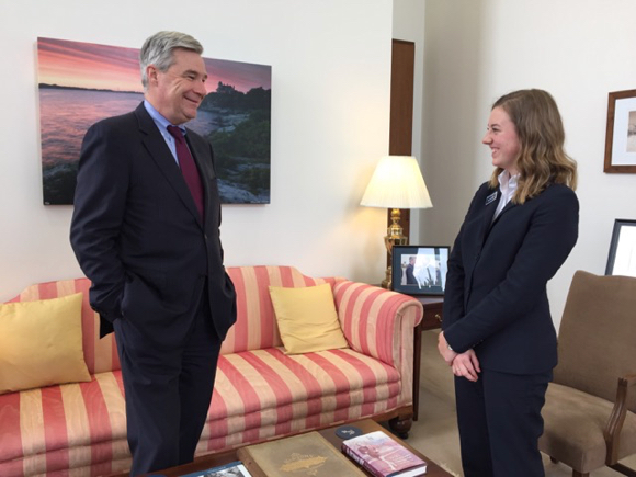 Post image for M-A senior Holly Newman reflects on her time as a Senate Page