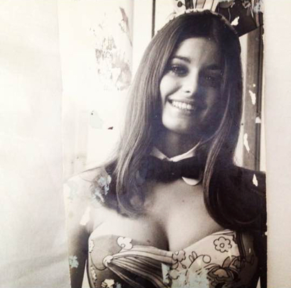 Always a local angle: this M-A grad was Playmate of the Month back in the day