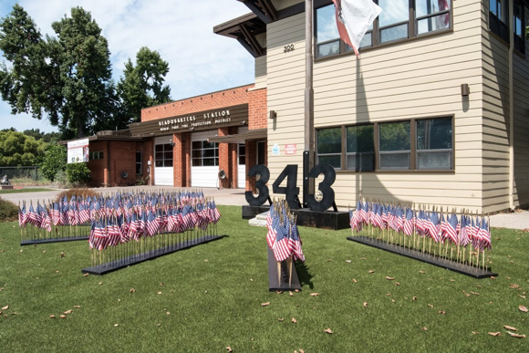 Fire stations in Menlo Park remember those who died on 9/11