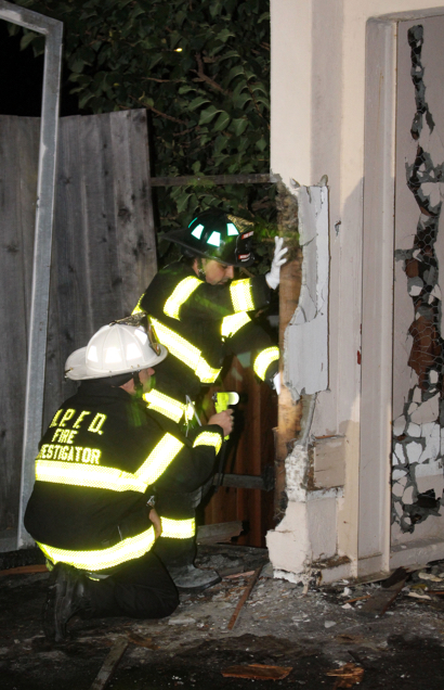 Apartment fire on the Alameda brought quickly under control Friday evening