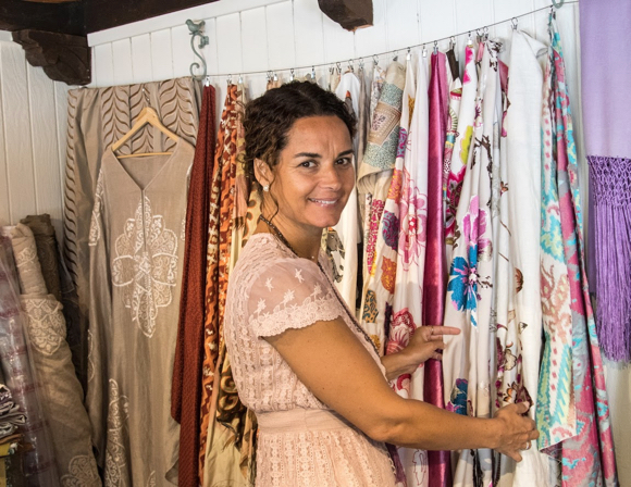Shalini Bitzer continues a textile business that her grandfather started