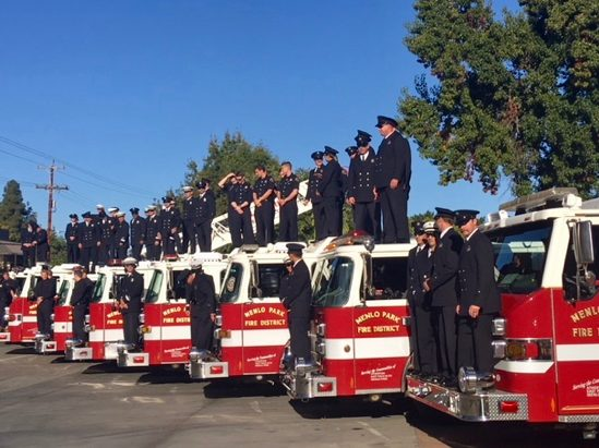 Changes in leadership at Menlo Park Fire and at Menlo-Atherton High School