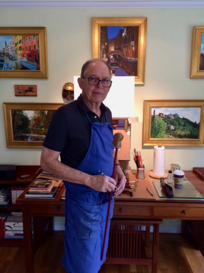 Post image for Joseph Fuchs brings his art to Café Zoë for the 5th year in a row