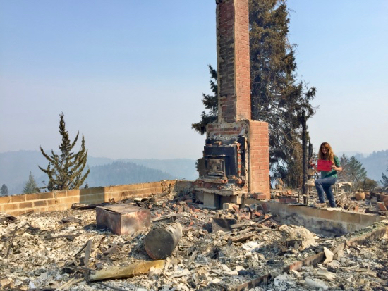 Post image for Menlo Park building inspector assists on Northern California fires