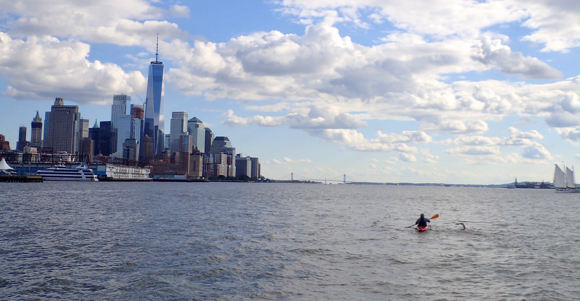 Post image for Menlo Park orthodontist Scott Kaloust conquers another body of water with a swim around Manhattan