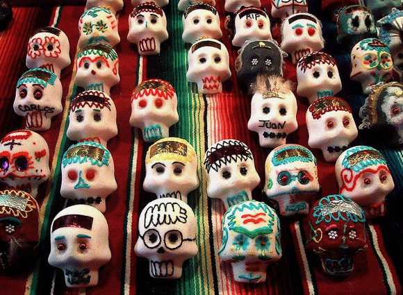 Sugar Skull Decorating for Teens takes place Friday, October 27