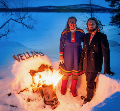Post image for Finish folk pop duo, Vellamo, appears in Menlo Park on Oct. 21