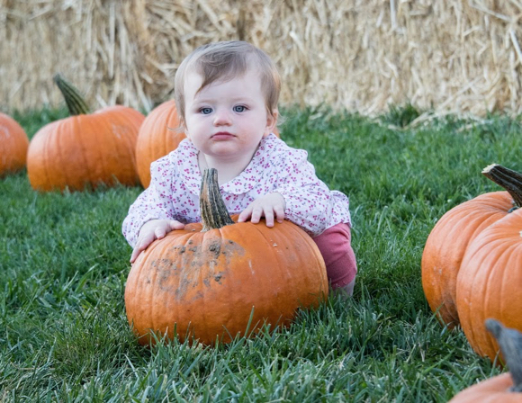 Post image for Pumpkins and the preschool set take center stage at St. Raymond Pumpkin Festival