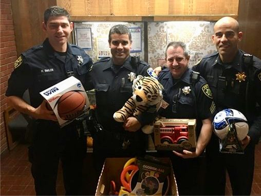 Atherton Police Department's annual toy drive is underway