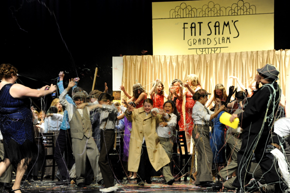 "Post image for Spotted: Cast of Bugsy Malone, Jr. getting ""stringed"""