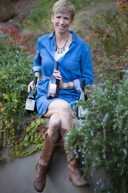 Courtney Kingston is fourth generation steward of family farm in Chile that now produces wine