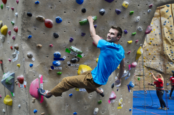 Post image for Jake Scharfman finds rock climbing the perfect sport