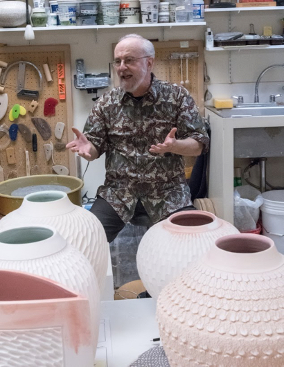 Once a physicist, Lee Middleman is now a ceramicist