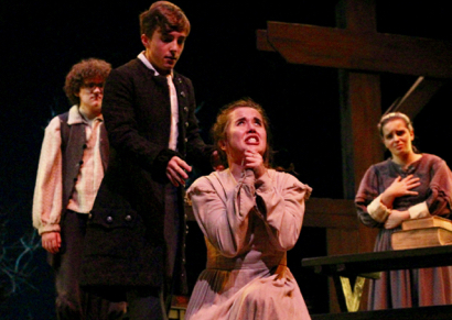 "M-A's production of ""The Crucible"" continues November 3-5 at M-A PAC"