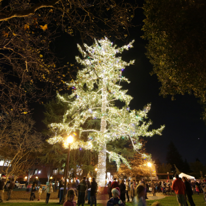Post image for Tree lighting followed by breakfast with Santa kick off holidays in Menlo Park