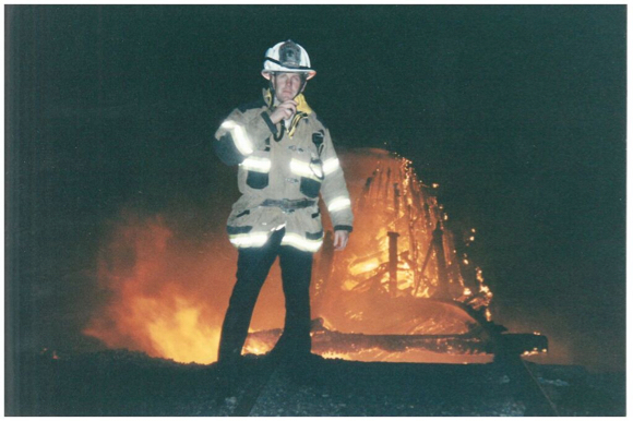 20 years ago today the oldest and first bridge across the San Francisco Bay caught fire