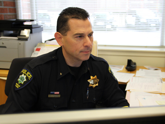 David Bertini is named Menlo Park Chief of Police