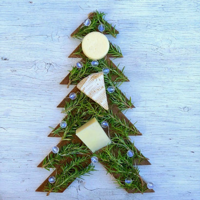 Merry Christmas cheese tree to wow your guests